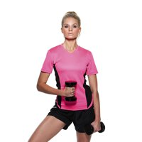 Gamegear Cooltex^Ladies Team Top V-Neck KK967
