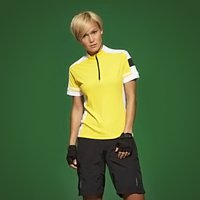 James & Nicholson Ladies Bike-T Half Zip JN451